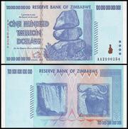 100 триллионов долларов Зимбабве!