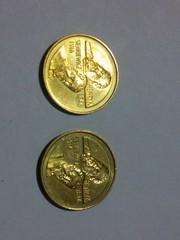 Юбилейная монета 2злотых 1996 Польша 2шт