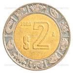 Продам монету 2 Мексиканских Песо