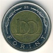 Монета 100 форинтов Венгрия 1996