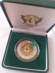 Українська вишиванка украинский сувенир,  монета Украинская вышиванка