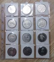 Россия-36 монет -1, 3, 5 рублей