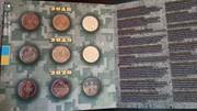 Монети Збройні Сили України 2020 Прикордонна Повітряні сили Соняшники набір 9 монет